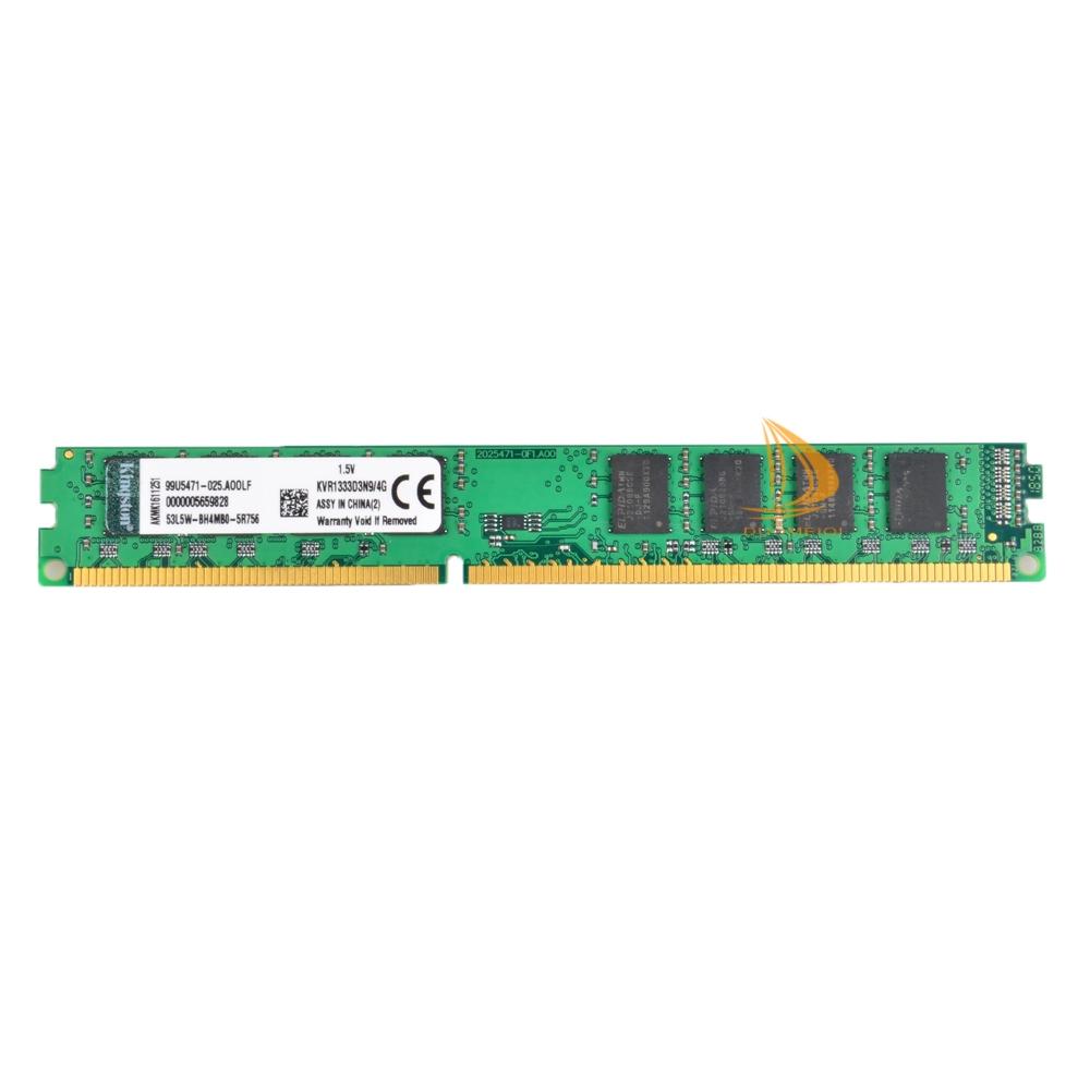 4GB Kingston Intel CPU 2Rx8 PC3-10600 DIMM Memory RAM Desktop DDR3 1333Mhz