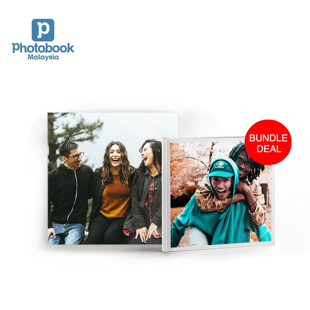"(Bundle) 8"" x 8"" Canvas + Free 6"" x 6"" Softcover Photobook, 40 pages"