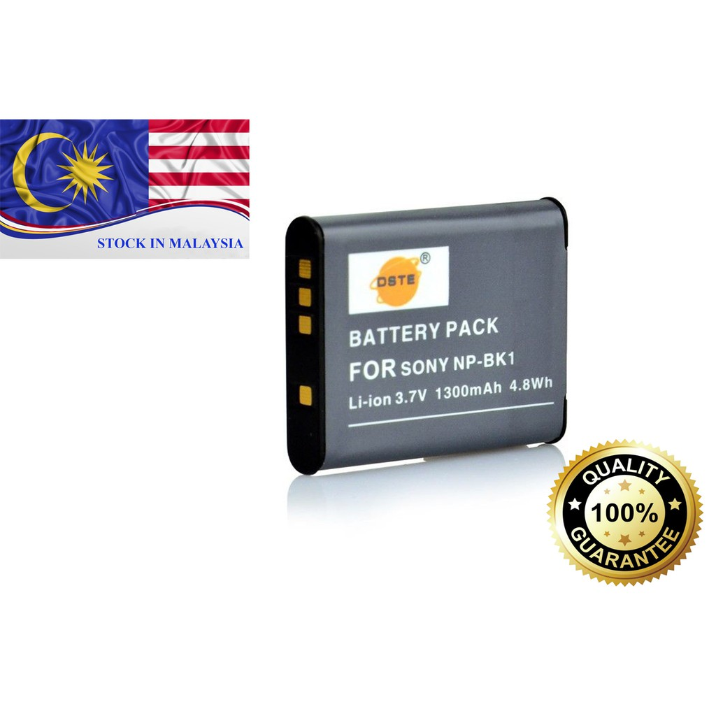 DSTE NP-BK1 Battery For Sony Camera (Ready Stock In Malaysia)