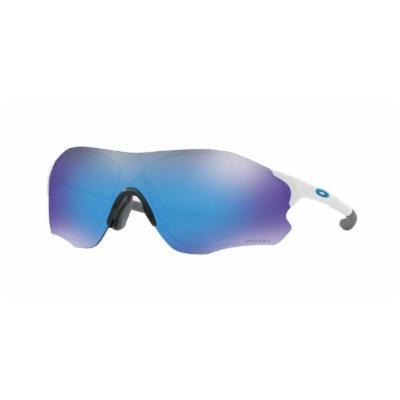 503d7d8e6b2b NEW Oakley Frogskins sunglasses Silver Checkbox Prizm Sapphire 9013-C055  blue   Shopee Malaysia