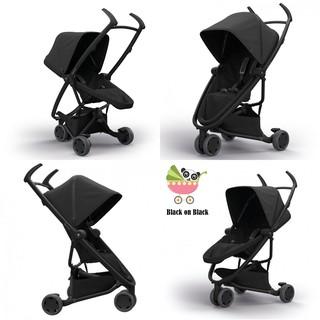 READY STOCK Quinny Zapp Flex stroller - Black on black ...