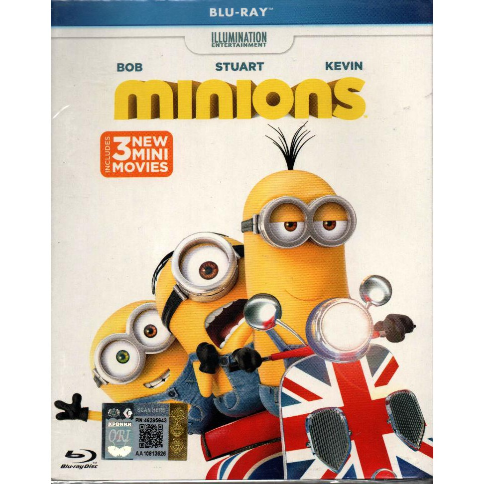 Blu Ray Disc Minions 2015 Shopee Malaysia