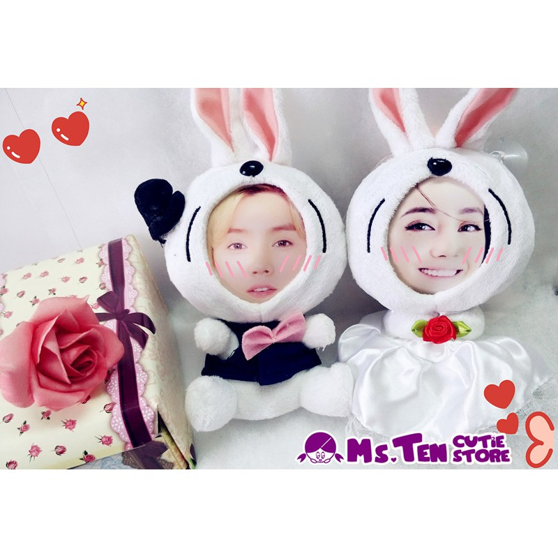 Creative Special Gifts Customized DIY 3D Face Toys Couple Set Wedding Love