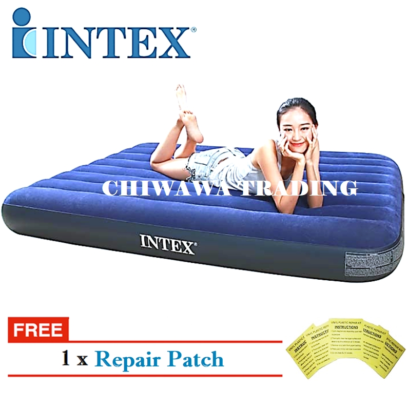 PROMOTION 64756 64757 64758 64759 64755  INTEX Inflatable Bubble Air Mattress Relax Massage Air Bed Sofa