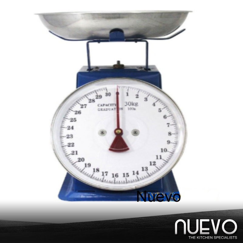 Kitchen Scale 20/30kg Measuring Analog Scale Spring Balance With Bowl