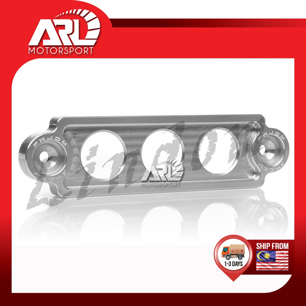 Password JDM Battery Tie Down Aluminium Sporty Battery Tie Bracket Car Auto Acccessories ARL Motorsport