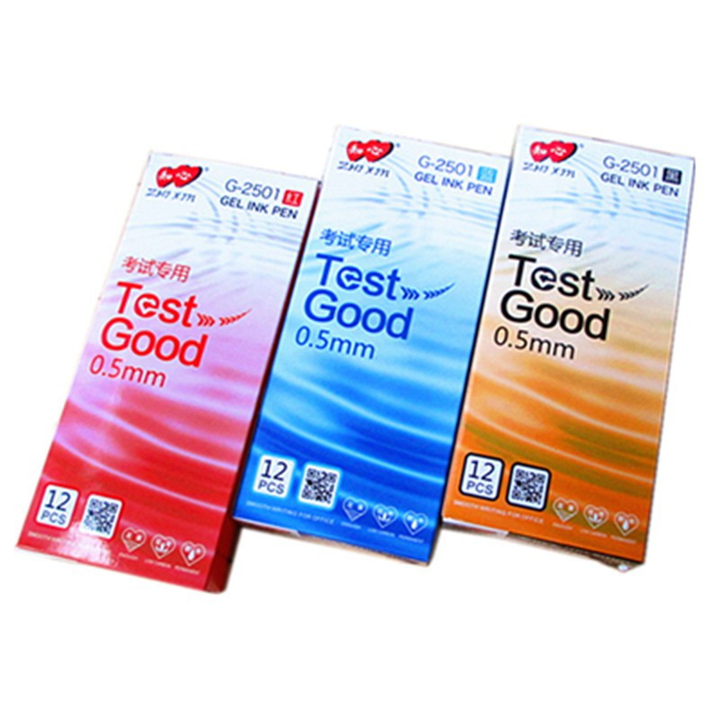 Test Good Gel Ink Pen 0.5mm Zhi Xin Gel Ink Exam Pen / Zhixin /G-2501