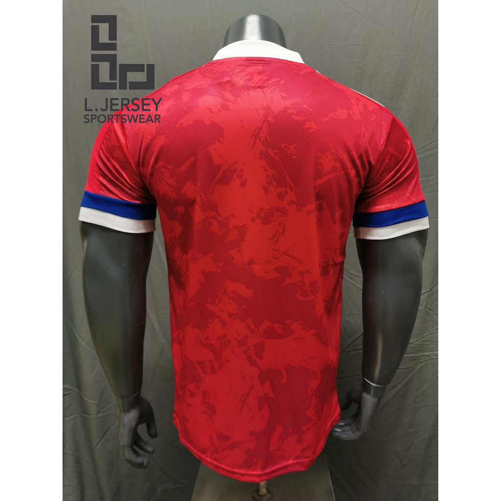 Russia Men Home Euro Cup Season 20/21 CLIMALITE Fans Jersey