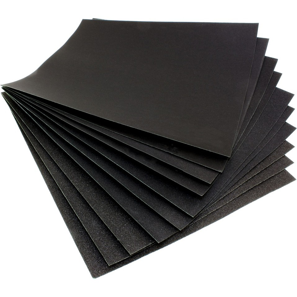 Sandpaper For Metal >> Sandpaper Waterproof Grit Abrasive Paper Metal Wood Kertas Pasir Random Brands