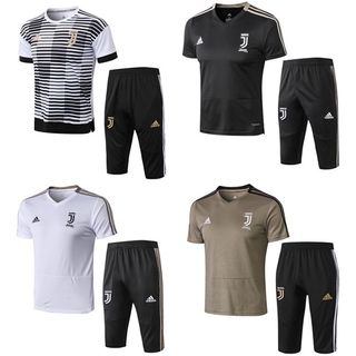 new style abdf8 480ce 2018/19 Juventus Training Jersey Kit Short Football ...