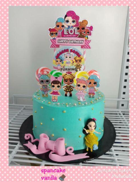Topper Cake Lol Cantik Dan Murah Shopee Malaysia
