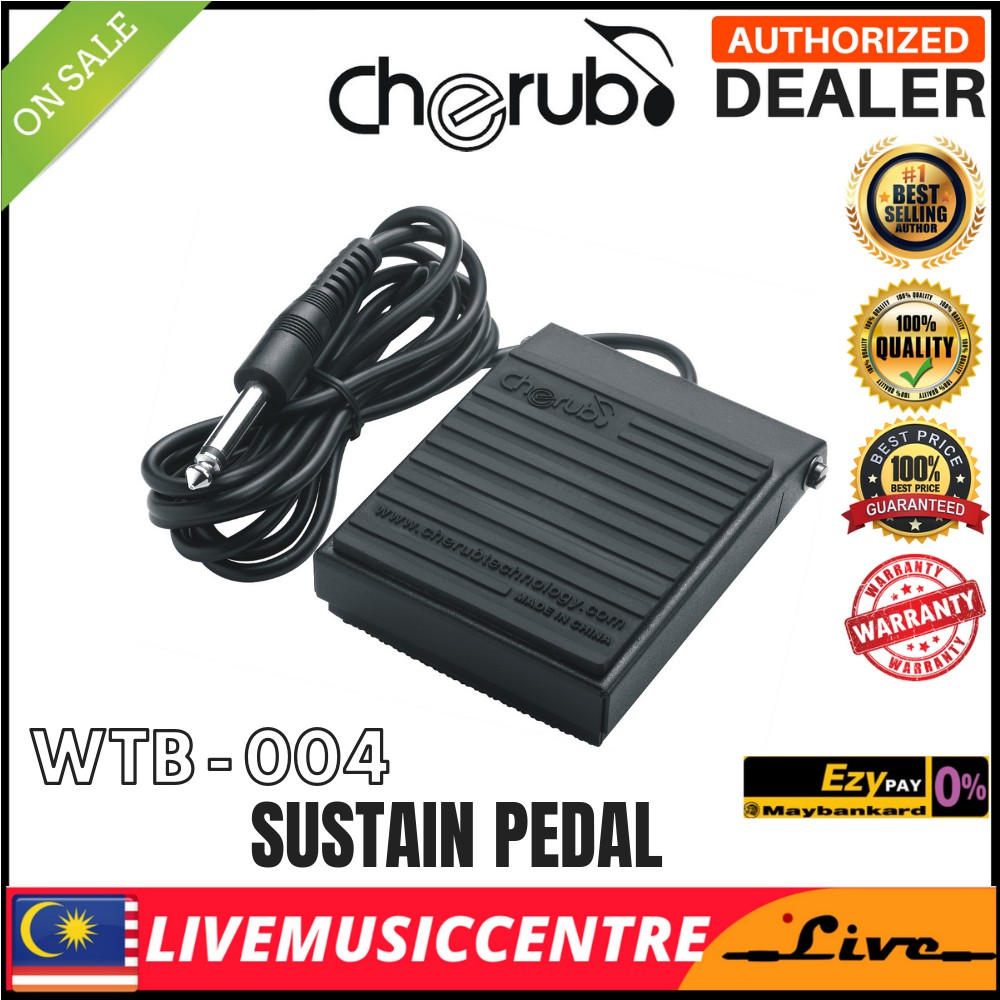 high quality WTB-004 Keyboard Piano Sustain Pedal Universal (WTB004)