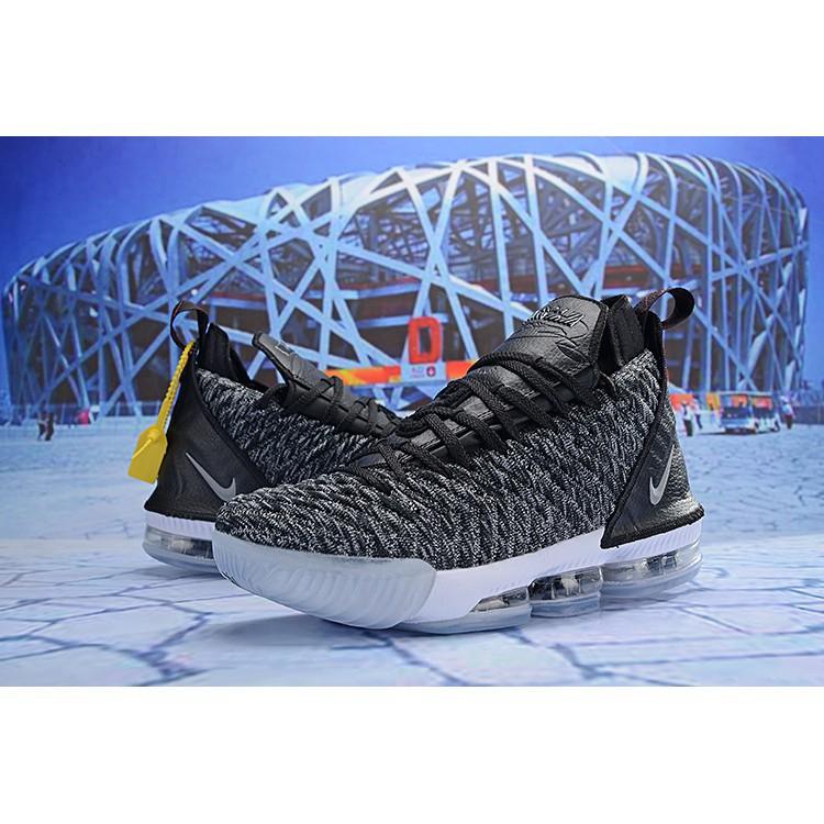 detailed look 639a9 4e638 Men's Shoes Nike Lebron James 16 Lbj16 Carbon Black Basketball Shoes