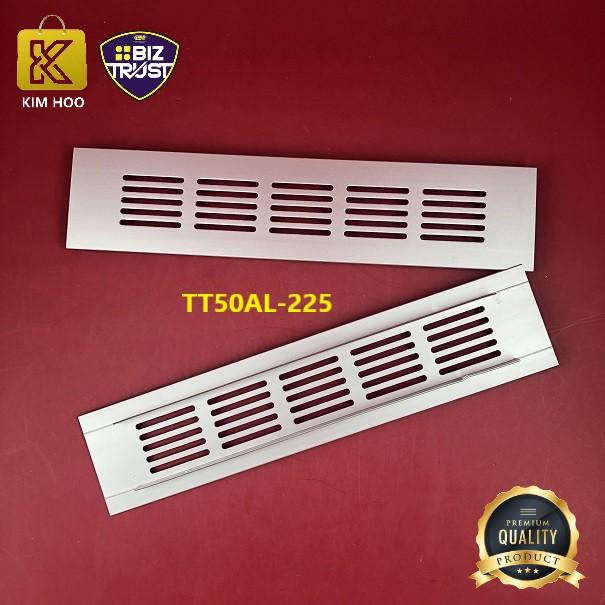 Square Aluminum Ventilation Vent Grille for Cupboard Wardrobe,150mm, 200mm, 225mm & 300mm