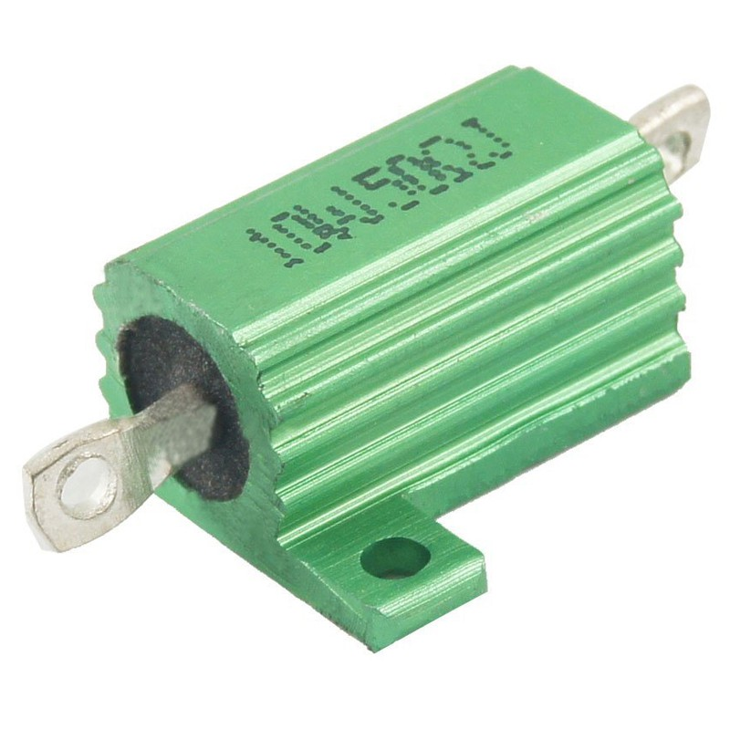 5/% Tolerance Wire Wound 60W 50ohm Aluminum Housed Resistor
