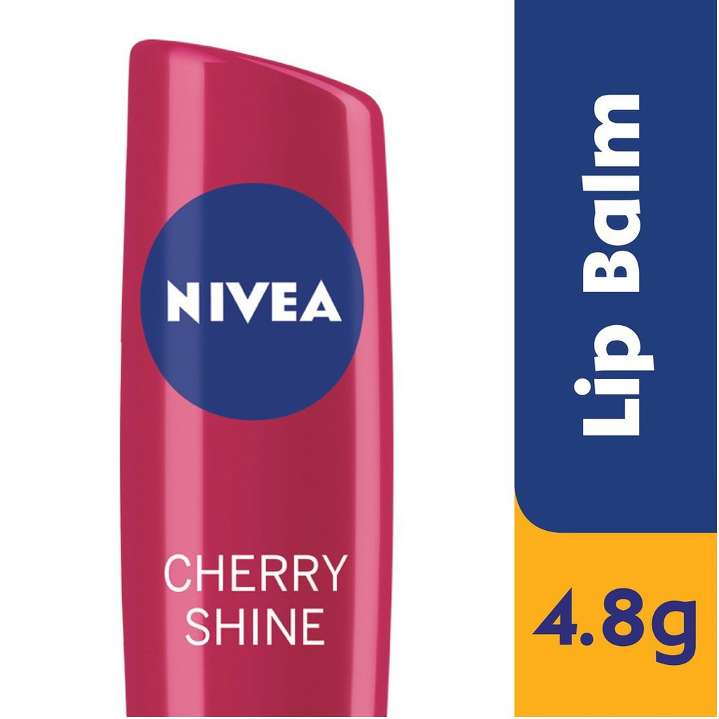 Nivea Fruity Lip Balm Shine - Cherry (4.8g)