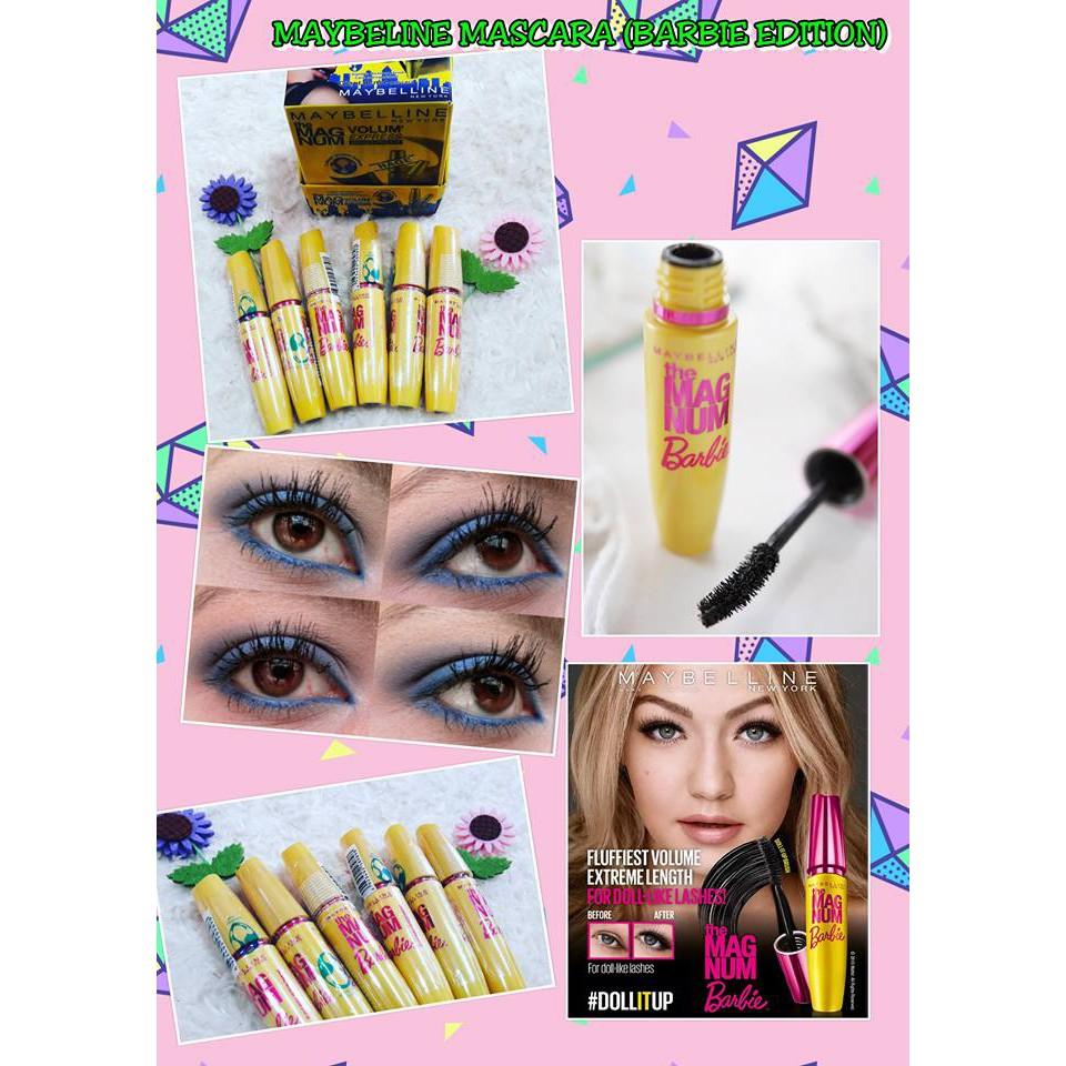 Maybelline Lashionista Mascara Shopee Malaysia Magnum 100 Ori
