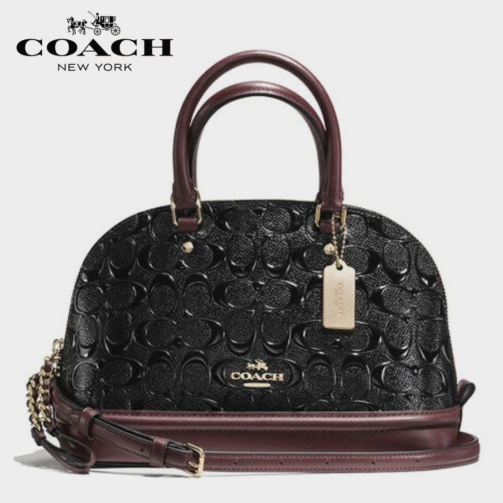 6dc6facd4152 COACH F57494 - SIERRA SATCHEL IN COLORBLOCK SIGNATURE