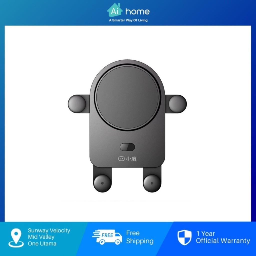 Baidu XiaoDu AI Wireless Charge Car Holder - Build in XiaoDu Smart Assistant | FM | Bluetooth | Voice Control [Aihome]