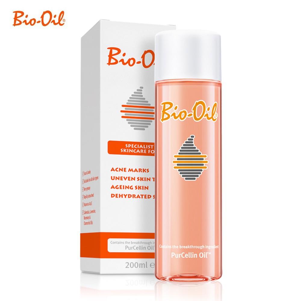 Bio Oil For Scars Marks Aging Dehydrated Skin 200ml Shopee Skincare Malaysia