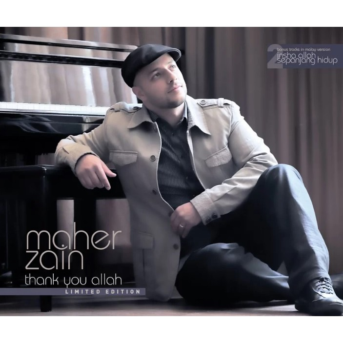 MAHER ZAIN - Thank You Allah Limited Edition CD   Shopee