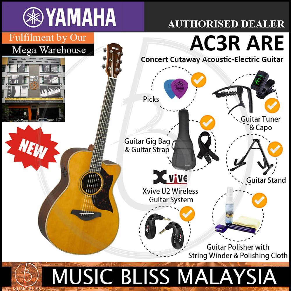 Responsible Ammoon 41 Guitar 6-string Acoustic Guitar Rosewood Fingerboard Cutaway Guitarra With Gig Bag Capo Tuner Strings Guitar Strap Sports & Entertainment Stringed Instruments