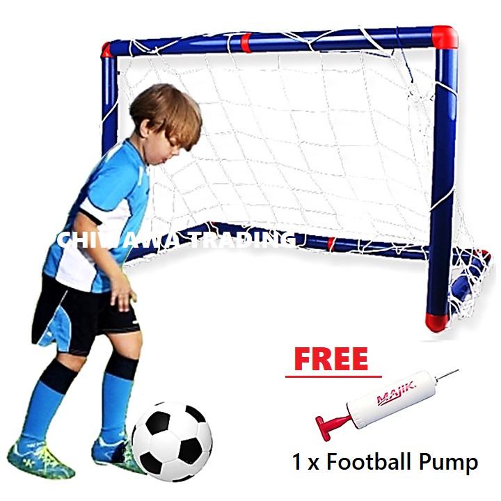 Football Baseball Soccer Goal Post Net Toy Sport Match Target Mesh Training Aid Rebound Net / Bola Sepak