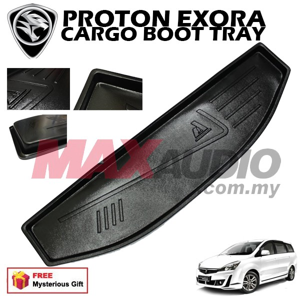 [FREE Gift] PROTON EXORA MATERIAL ABS PLASTIC CARGO BOOT TRAY