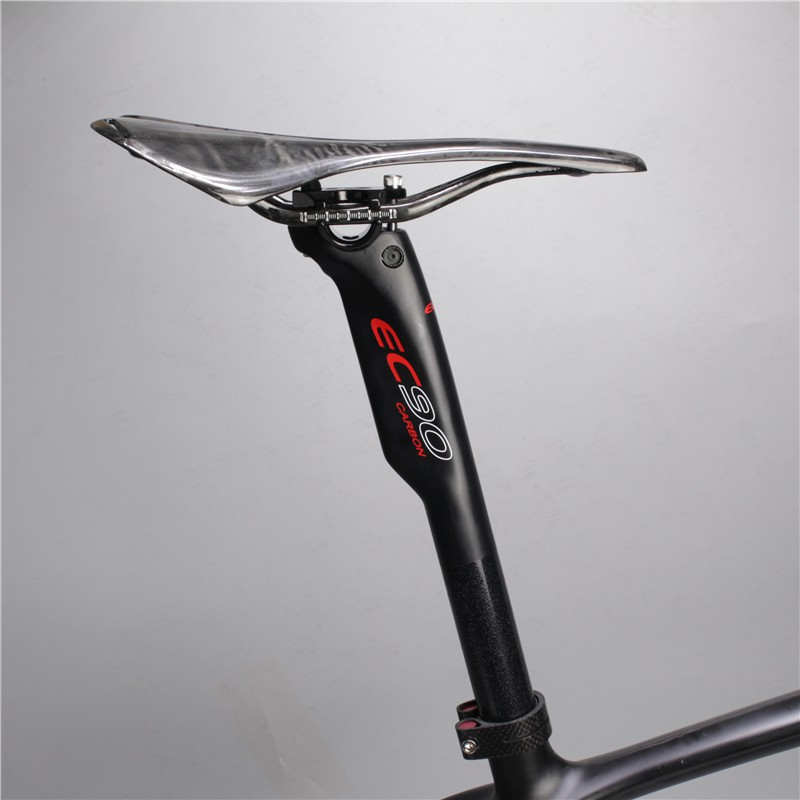 Carbon MTB XC AM DH Road Bike Seat Saddle post Seatpost 27.2 30.8 31.6*350 400mm