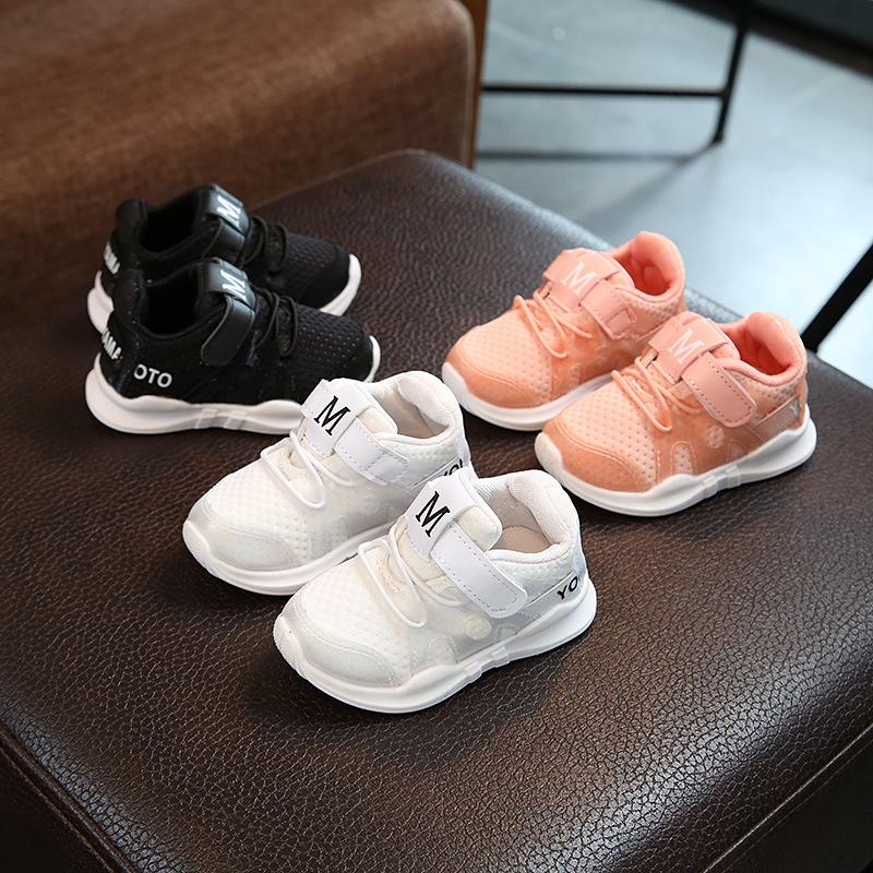 3742c2a27f4 2019 Autumn Baby Tennis Shoes Sports Sneakers for Toddler Girls ...