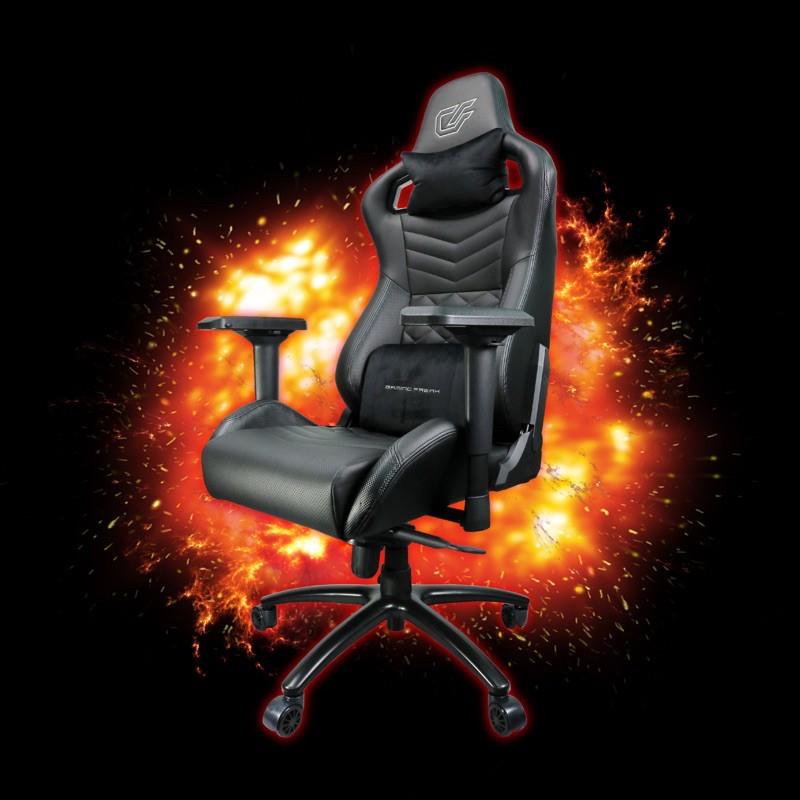 Gaming Freak GF-GCPROCT-BC PRO CARBON THRONE Professional Gaming Chair/ Kerusi (Support Upto 150kg)