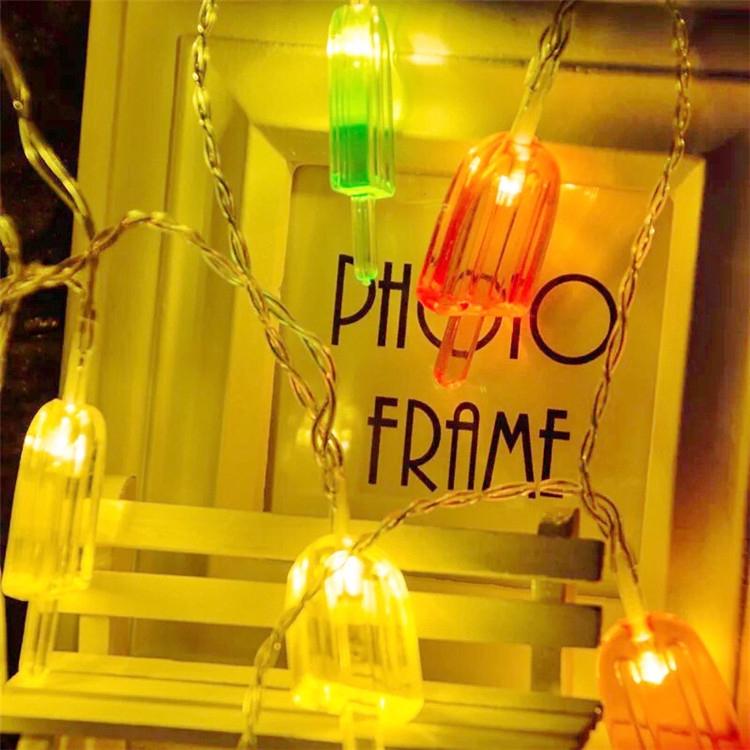 Shape Led String Lights Summer Holiday