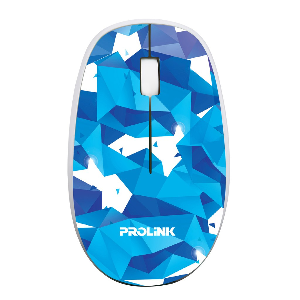 PROLiNK Wireless Optical Mouse with On/Off Switch Artistic Design PMW5007