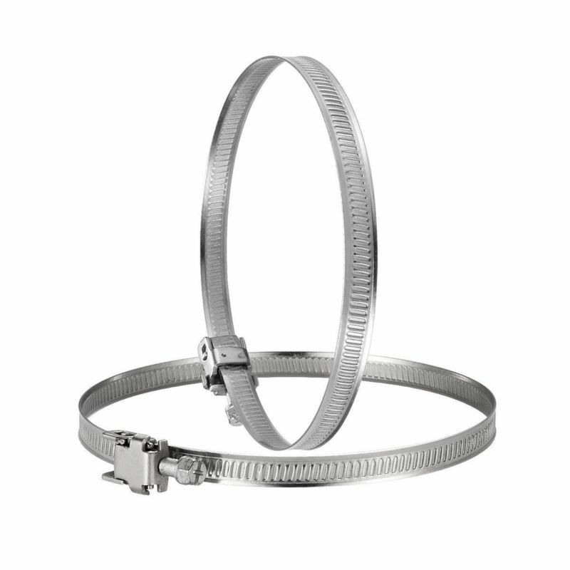 """2 x Duct Jubilee Clip Clamp 150mm Flexible Ducting Hose Pipe Ventilation 6/"""""""