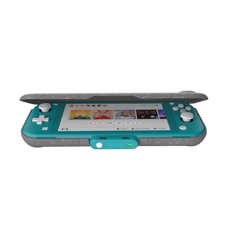{HTGFF-LITE-NS} GENKI Force Field Lite Dual Magnets - Nintendo Switch Lite (Gray)