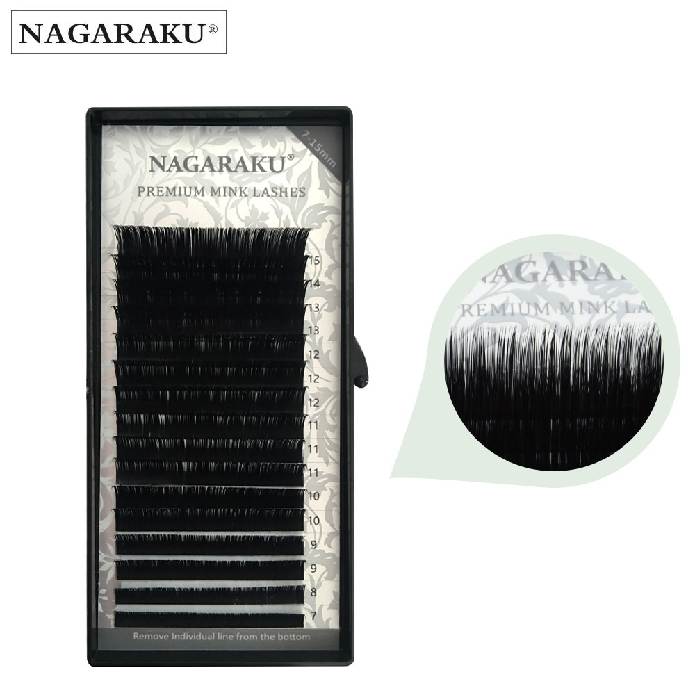 c47affd43b0 NAGARAKU korea eyelash extension false eyelash faxu mink lashes ...