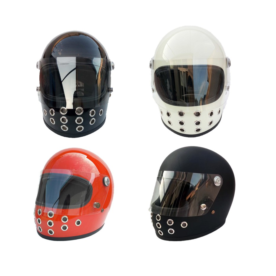 Dirt Bike Helmet With Visor >> Fiberglass Full Face Motorcycle Helmet With Visor Bike Dirt Bicycle Helmet Cool