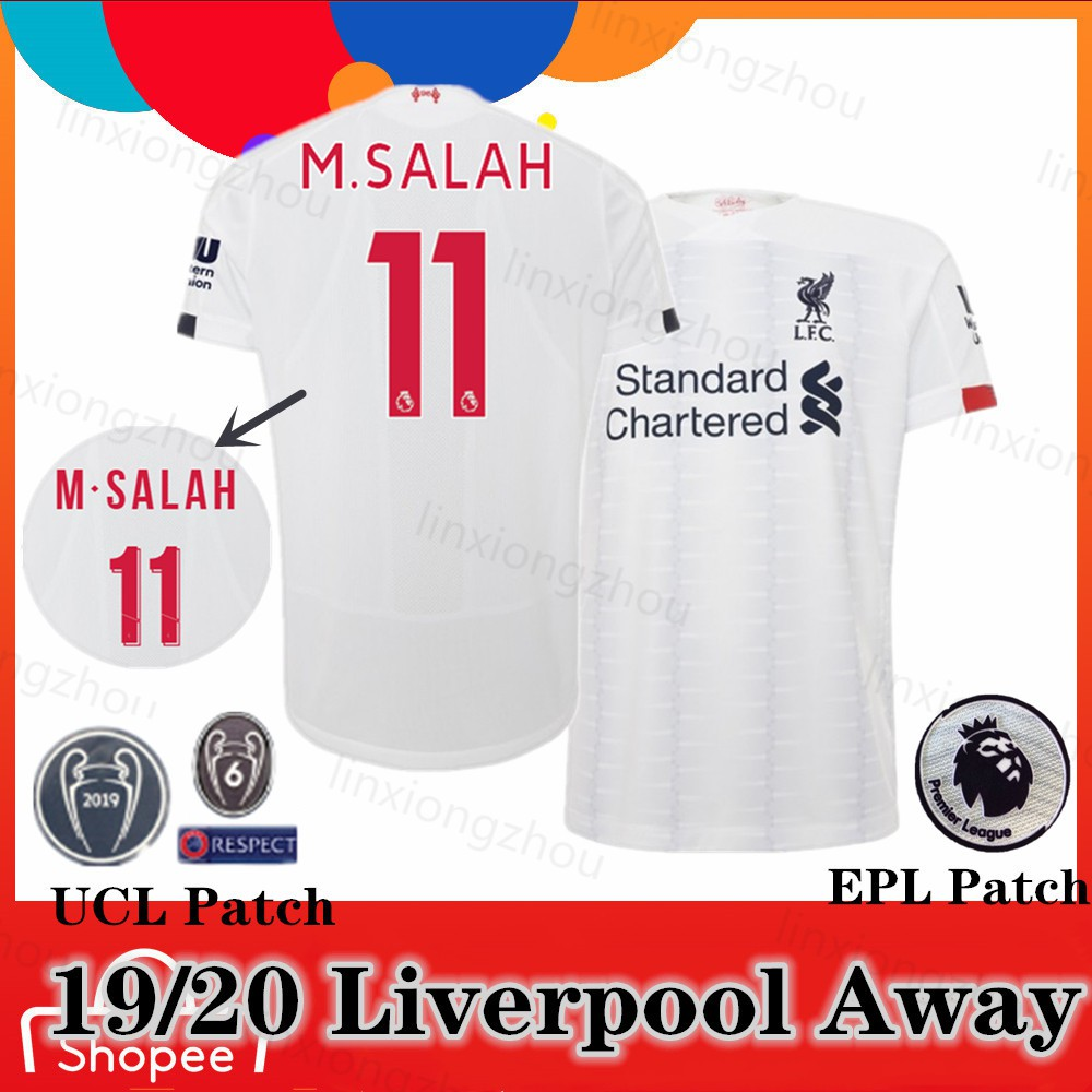 promo code 59e29 09c5d Top Quality 19/20 Liverpool Away Jersi Soccer Jersey Football Jersey
