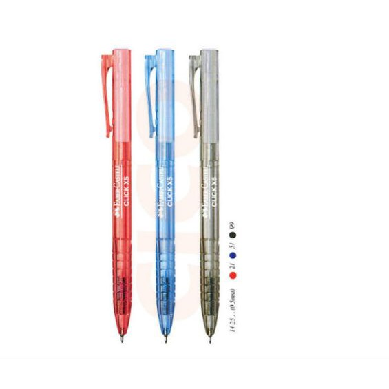 Faber-Castell Click X5 Pen Ball Pen 1425 (60pcs/box)