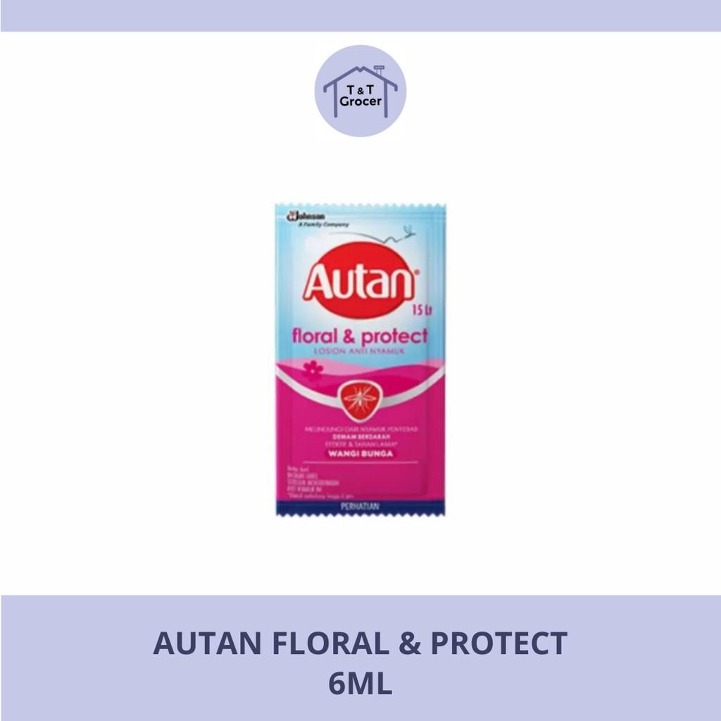Autan Floral & Protect Losion Anti Nyamuk (6ml)