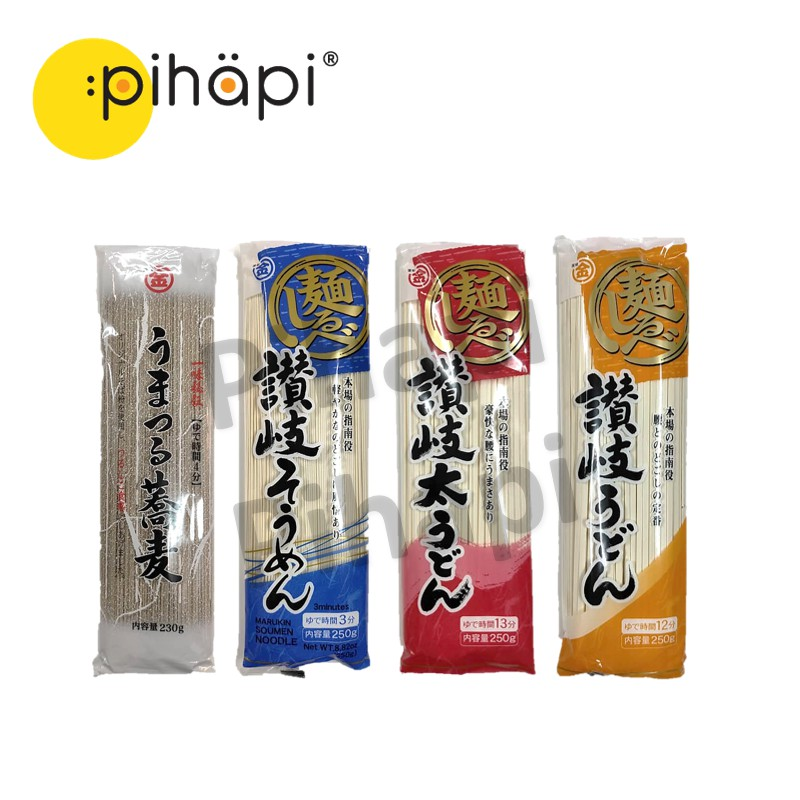 [IMPORTED FROM JAPAN & READY STOCK] Japanese ZANQIKIN Dried Udon & Dried Buckwheat Noodles / [日本进口,现货] 日本乌冬面和荞麦干面条