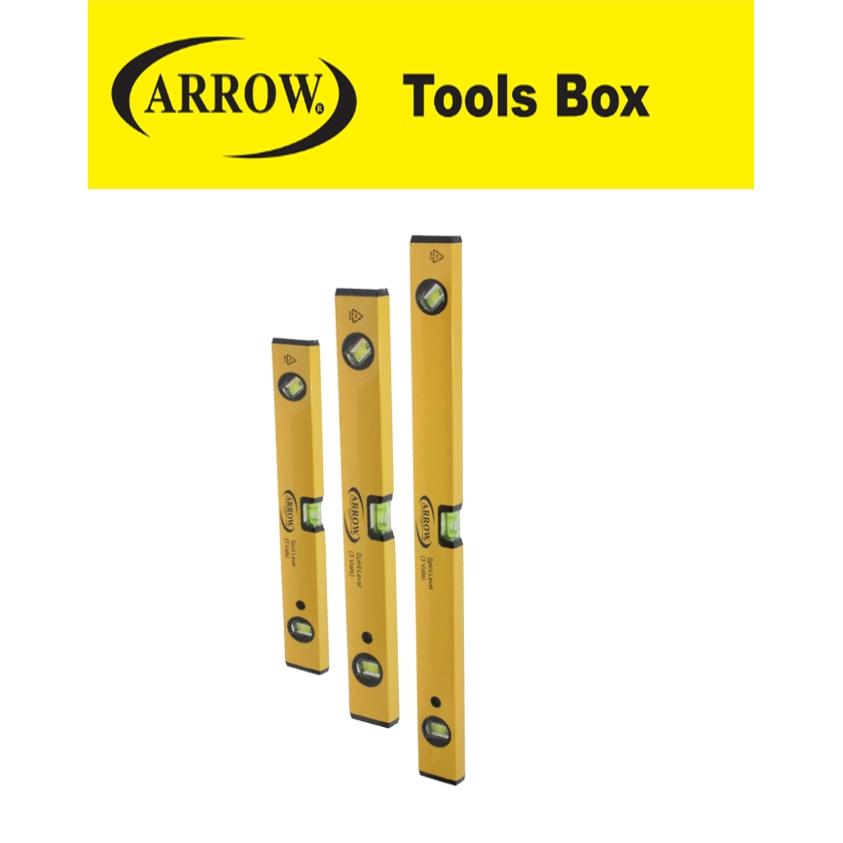 READY STOCK!! ARROW SPIRIT LEVEL WL12/WL18/WL24/WL36/WL48 EASY USE SAFETY GOOD QUALITY MUDAH