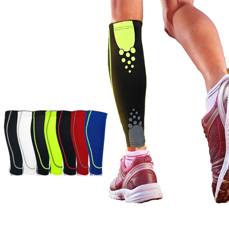 Santic Cycling Leg Warmers Covers Knee Protector Sports Knee Guard Black 1pcs