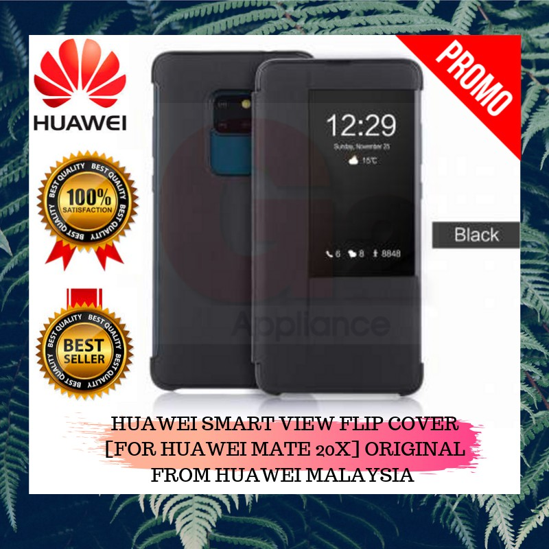 HUAWEI SMART VIEW FLIP COVER [FOR HUAWEI MATE 20X] ORIGINAL FROM HUAWEI MALAYSIA