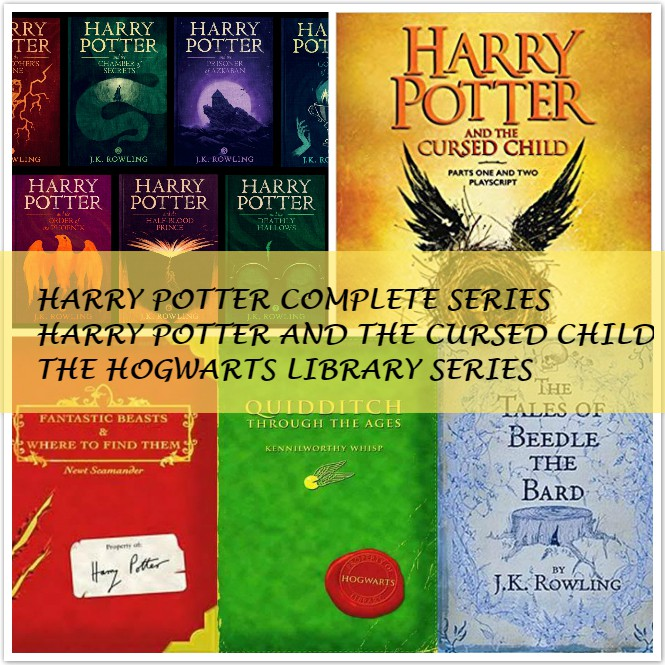[EBOOK]Harry Potter 1-8 [+Hogwarts Library Series ]