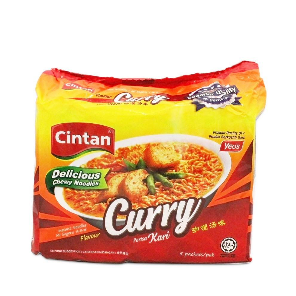 Cintan Instant Noodles Curry Flavour (76g x 5)