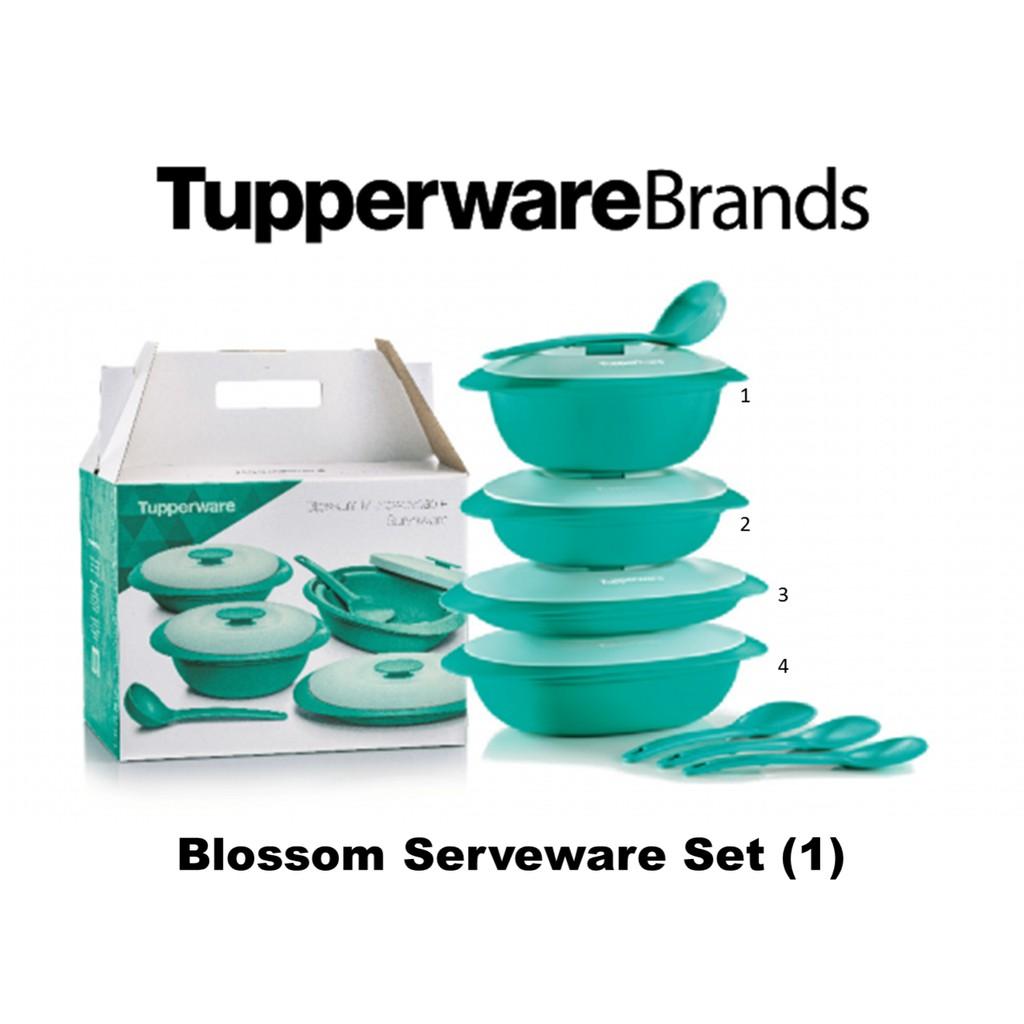 Tupperware Blossom Serveware Set (1)