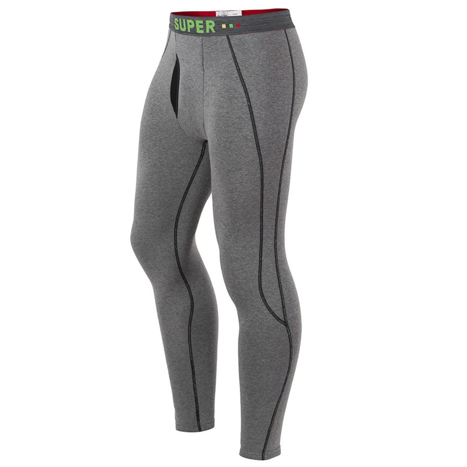 *Men's Warm Pants Thickening Plus Velvet Tight Leggings Cotton Pants Autumn