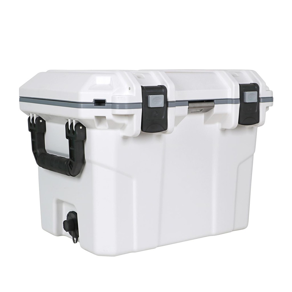 High Quality Food Grade Insulated Frozen 50QT Cooler Box for Camping Travel