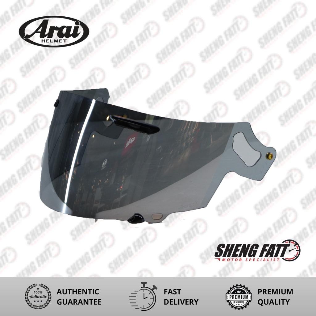 Arai Visor RX7X Semi Silver (1095)